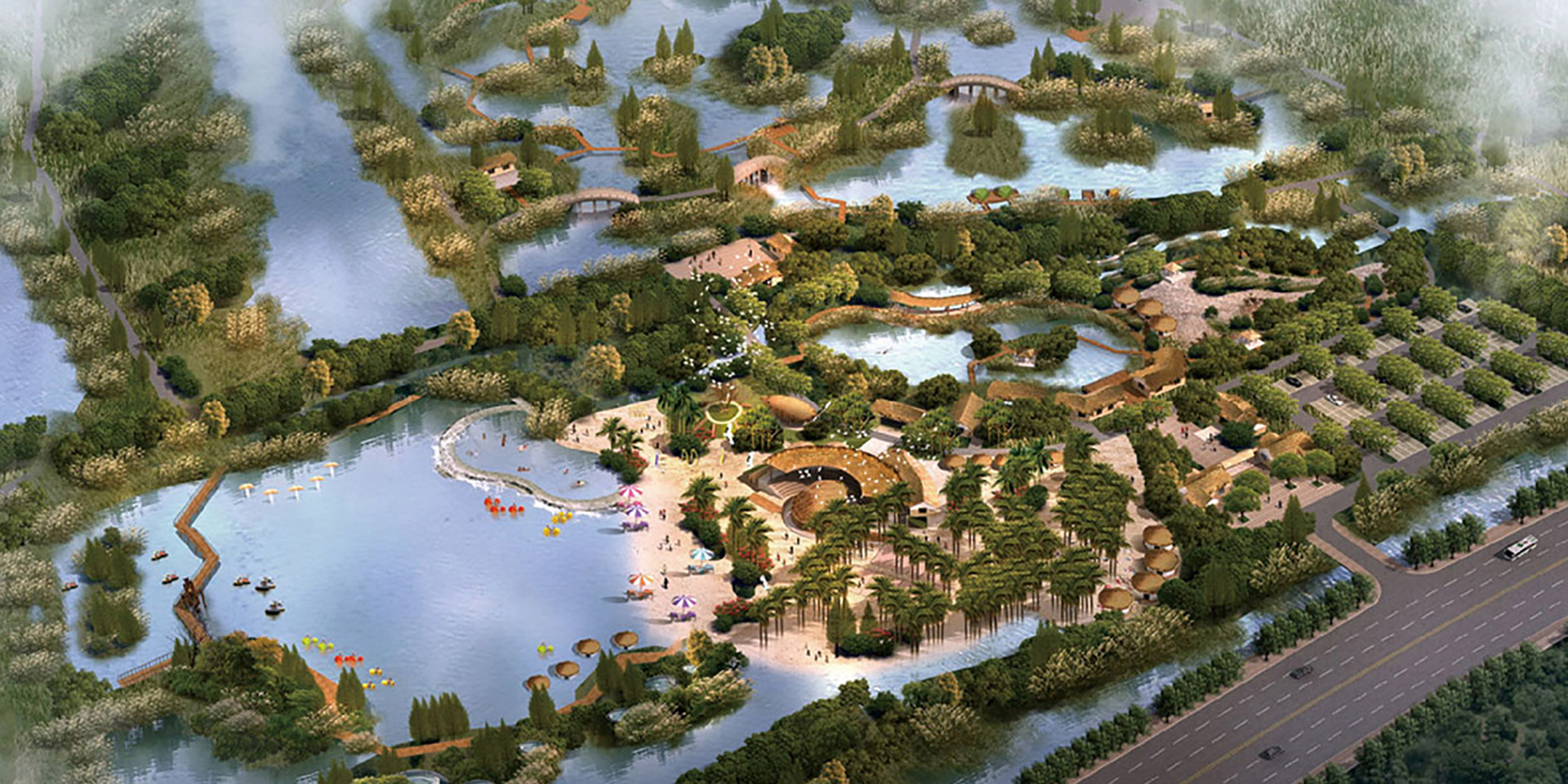 Planning Of The Wetland Wild Experience Project Of Hangzhou Bay National Wetland